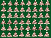 Peppermint Christmas Tree Background