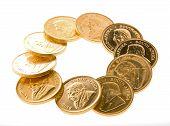 Постер, плакат: Монеты Золотой Крюгерранд