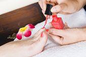 Pedicure Treatment In A Spa