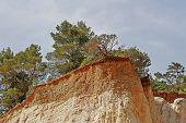 Ocher Rocks (french Colorado) Near Rustrel, Luberon, Provence, Southern France