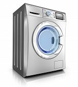 picture of stelles  - Modern washer on white background  - JPG