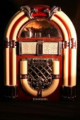 picture of jukebox  - jukebox at my studio - JPG