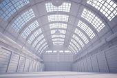 weiße hangar