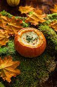 Pumpkin Parmiggiano Soup