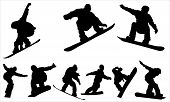 stock photo of snowboarding  - Snowboarding  - JPG