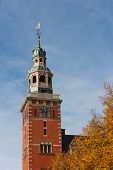 Steeple Of City Hall Inspired On Dutch Renaissance Style