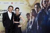 BERLIN - AUG 20:  Jamie Campbell Bower, Lily Collins at the 'The Mortal Instruments: City of Bones'