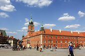 Royal Palace In Warsaw, Poland