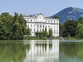 An image of a the Leopoldskron Palace in Salzburg Austria
