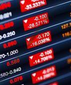 Decreasing of stock market