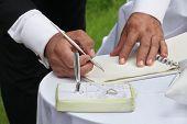 bridegroom register marriage