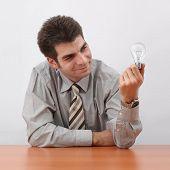 Businessman Generating Ideas
