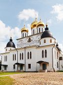 Dormition Cathedral Of Dmitrov Kremlin, Russia
