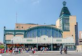 Coney Island Subway Station, New York