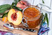 Portion Of Peach Jam