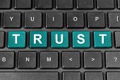 Trust Word On Keyboard
