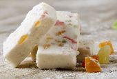 Sweet Souffle With Chunks Of Marmalade