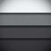 Background Of Four Carbon Fiber Patterns