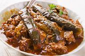 persian eggplant stew with lamb - khoresht-e bademjan