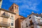 Segorbe Cathedral tower Castellon in Spain Valencian Community