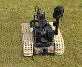 stock photo of bomb  - A Bomb Disposal Remote Control Robot Device - JPG