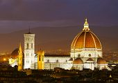 Cathedral of Santa Maria del Fiore.  Florence, Italy