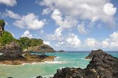 Cliffs On Fernando De Noronha Island  (brazil)