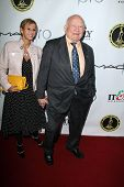 LOS ANGELES - FEB 15:  Ed Asner at the Annual Make-Up Artists And Hair Stylists Guild Awards at Para