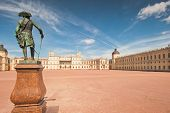 Gatchina. Famous Palace And Monument To Suburban St. Petreburge