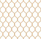 Rope marine net pattern