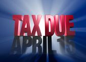 April 15, Tax Due