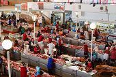 Food Market In Gomel. This Is An Example Of Existing Food Market In Belarus