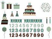 Birthday Vector Kit