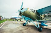 Famous Soviet Plane Paradropper Antonov An-2 Heritage Of Flying Legends Aircraft In Belarusian Aviat
