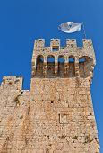 Tower Of Kamerlengo Castle (1437). Trogir, Croatia