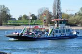 Ferry in Düsseldorf