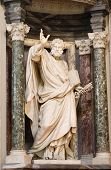 Rome - st. Peter statue in Lateran basilica