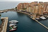 Monaco - Architecture Fontvieille District