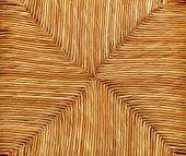 Woven Natural Wicker Background