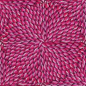 petals seamless pattern