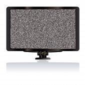 LCD Tv estática