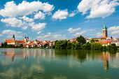 Telc is one of most beautiful towns in Southern Moravia, Highlands Region. The historical centre bel