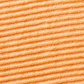 Orange Color Sponge Texture
