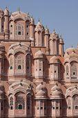 stock photo of brothel  - Hawa Mahal building in Jaipur - JPG