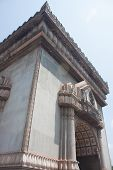 Arch Attractions Of Laos Side.