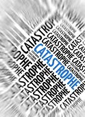 Marketing background - Catastrophe - blur and focus