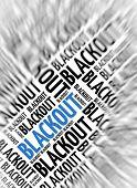 Marketing background - Blackout - blur and focus