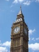 Big Ben Strikes Mid-day