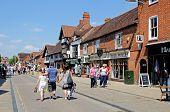 Henley Street, Stratford-upon-Avon.