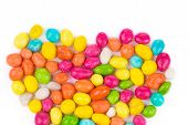 Colorful ball candies.